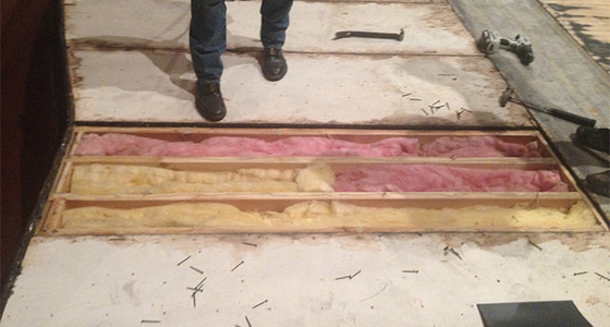 Pabst Theater Floor Repair