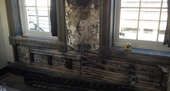 Turner Hall Ballroom Wall Repair