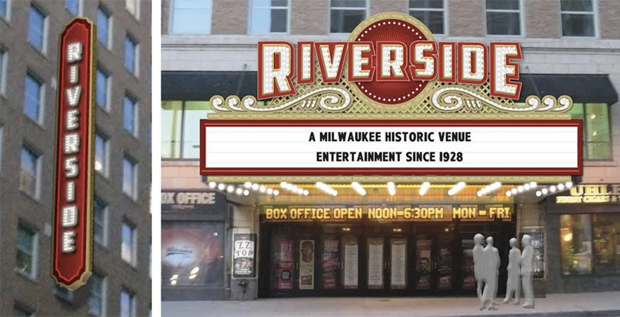 New Riverside Marquee